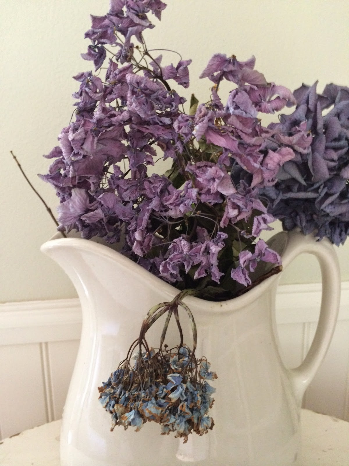 Little Farmstead The Best And Easiest Way S To Dry Hydrangeas