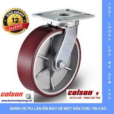 Báo giá bánh xe chịu lực Colson Caster Mỹ www.banhxepu.net