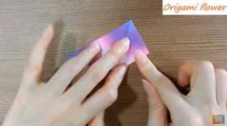 How To Make Origami Flowers Easy