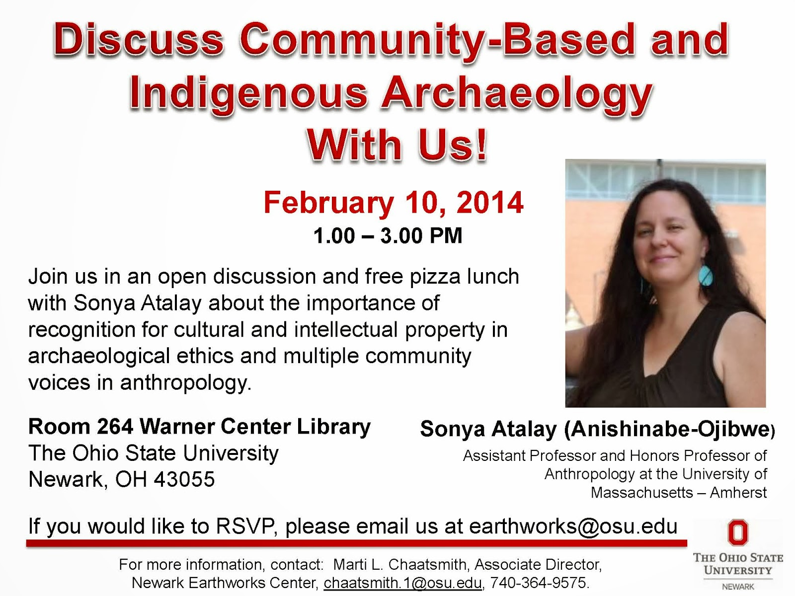 Discuss Community-Based and Indigenous Archaeology PDF Flyer