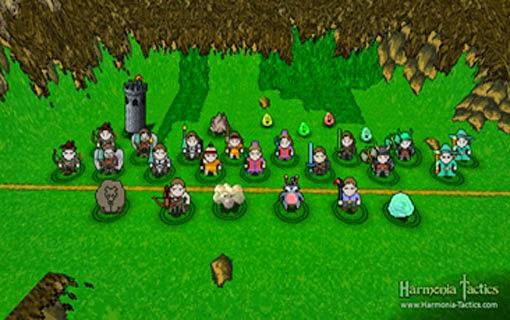 لعبة تكتيكات هارمونيا Harmonia Tactics لعبة اكشن جديدة ومجانية
