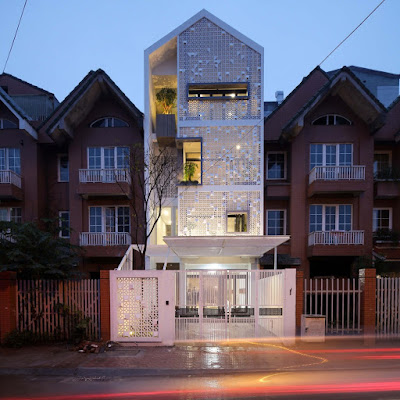 Cocoon House, Vietnam, as seen on Arch Daily