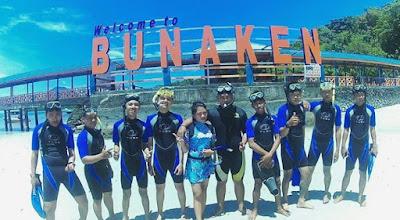 Harga Tiket Masuk Taman Laut Nasional Bunaken Terbaru 2016