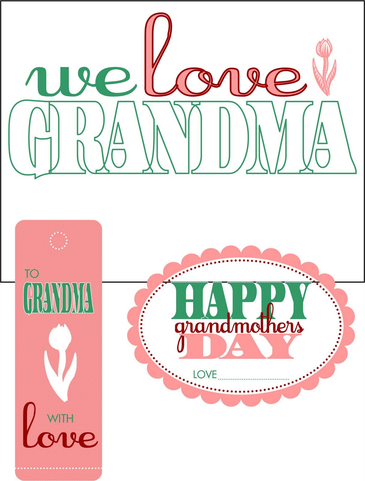 On The Grandma Coloring Page I Left A Little Room. 1215 x 1600.Valentine's Day Cards To Color Printable
