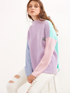 http://es.shein.com/Color-Block-Funnel-Neck-Eye-Embroidered-Sweater-p-328964-cat-1734.html?aff_id=8741