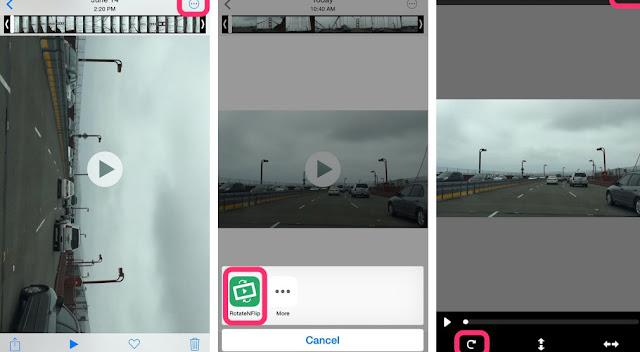 Begini Cara Memutar Video Sideways di iPhone dan iPad 3