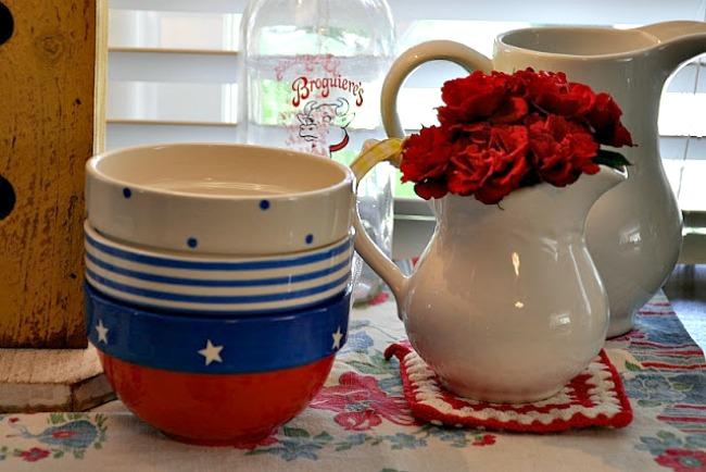 patriotic bowls