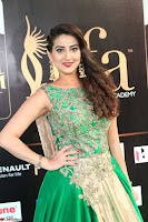 Manjusha in Beautiful Sleeveless Green Anarkali dress at IIFA Utsavam Awards 99.JPG