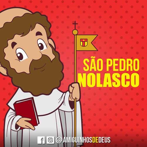 São Pedro Nolasco desenho