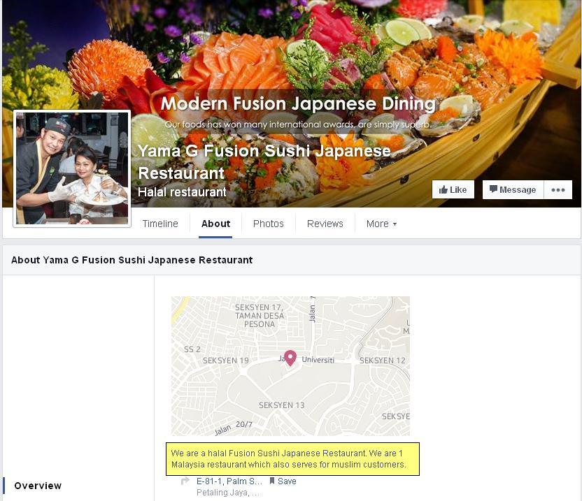 Status Halal Restoren Makanan Jepun Di Malaysia  Ourkizuna-7018