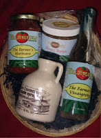 Gift basket by Waldingfield Farm