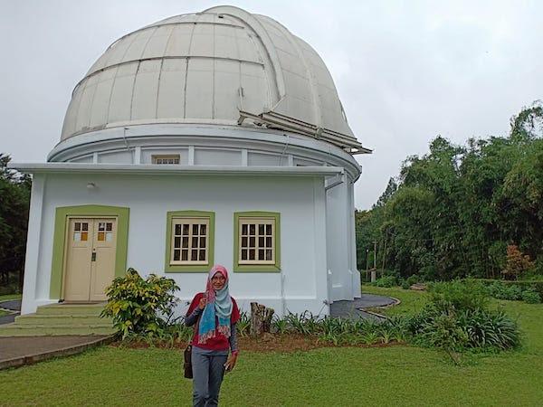 Belajar Ilmu Astronomi Di Observatorium Bosscha