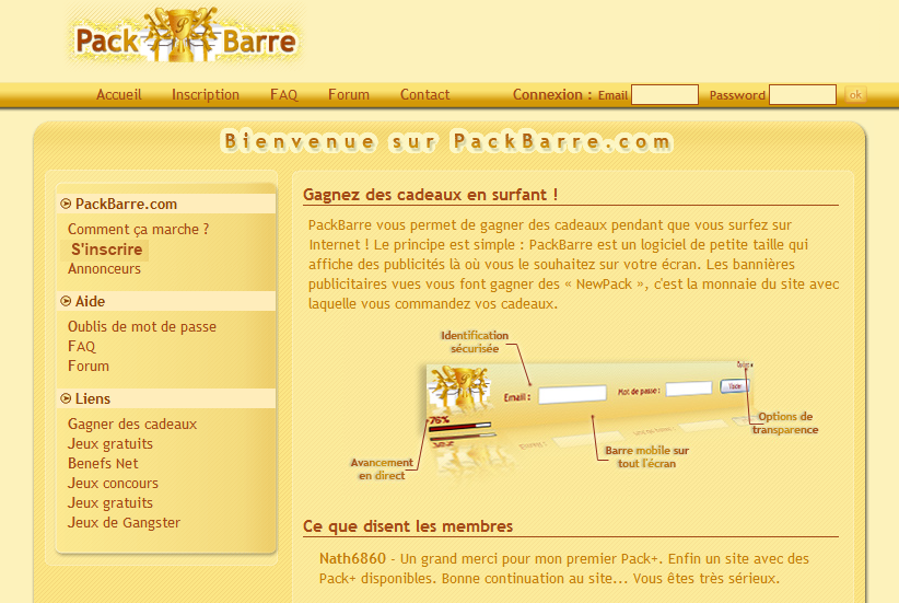 packbarre modificator gratuit