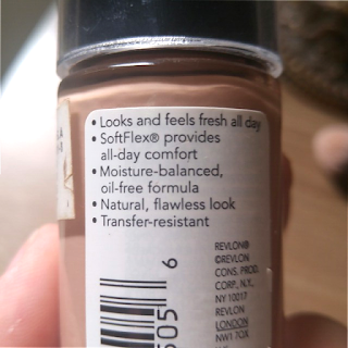 Label ColorStay Foundation