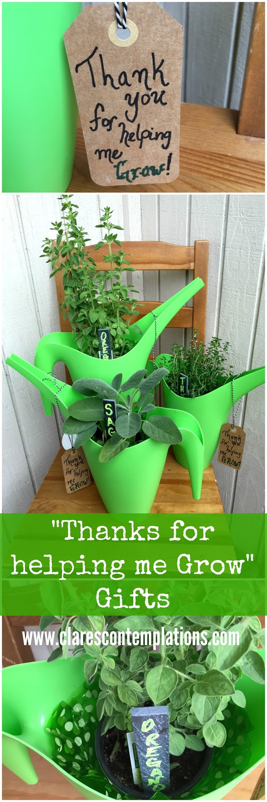 """Thanks For Helping Me Grow Quotes: Clare's Contemplations: """"Thanks For Helping Me Grow"""" Herb"""