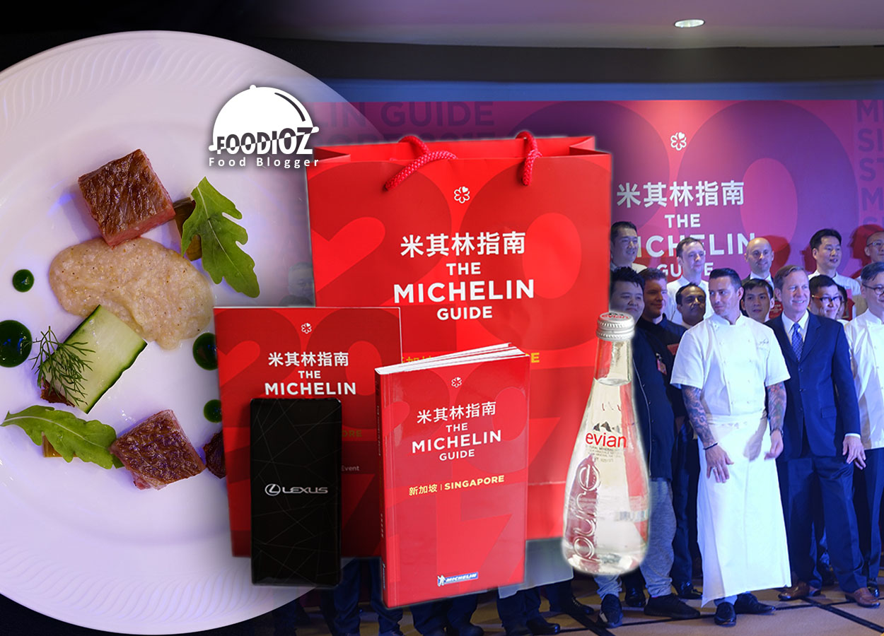 michelin guide singapore 2017 star event, fullerton hotel, singapore