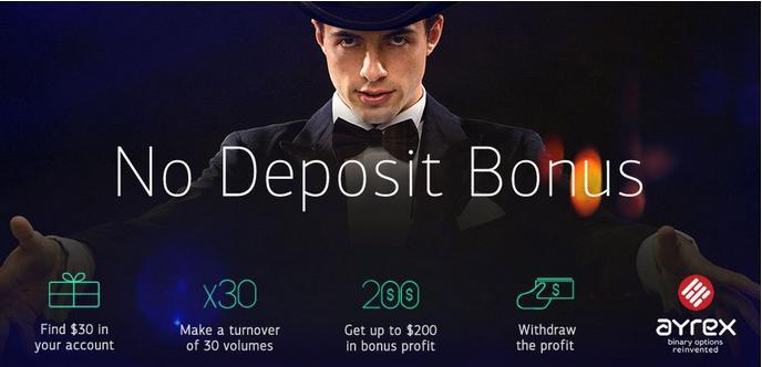 Bono opciones binarias sin deposito