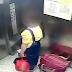 Deu à luz e deitou a filha no caixote do lixo