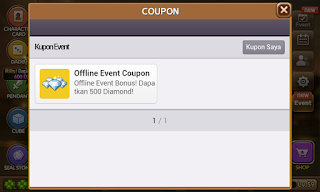 tsmpilan offline event coupon