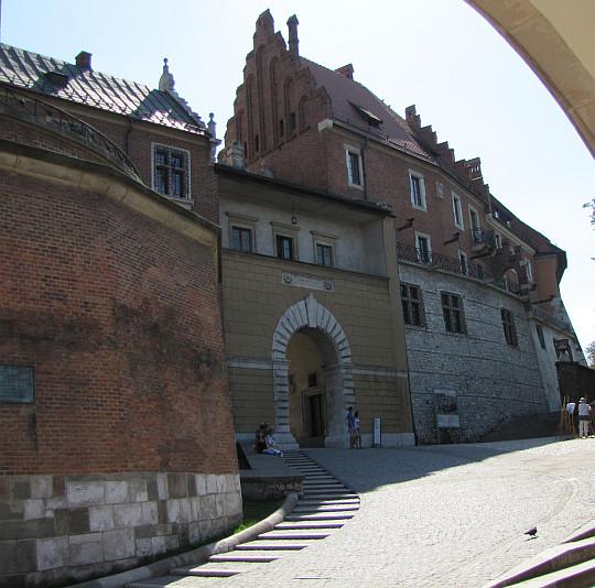 Kraków. Wawel. Brama Wazów.