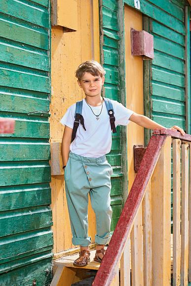 Burda 7 2018 çocuk pantolon