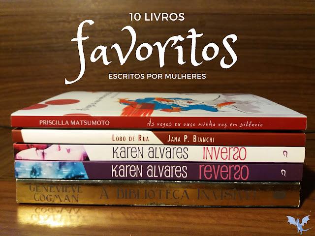 10 livros favoritos escritos por mulheres