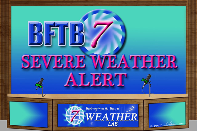 BFTB Weather set with severe weather alert notice
