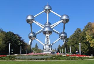 El Atomium de Bruselas