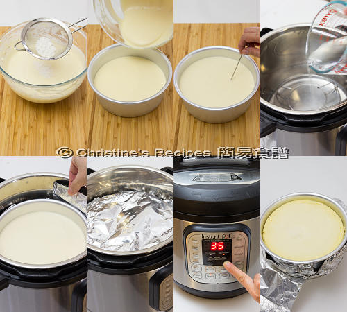 Blueberry Cheesecake in Instant Pot Procedures02
