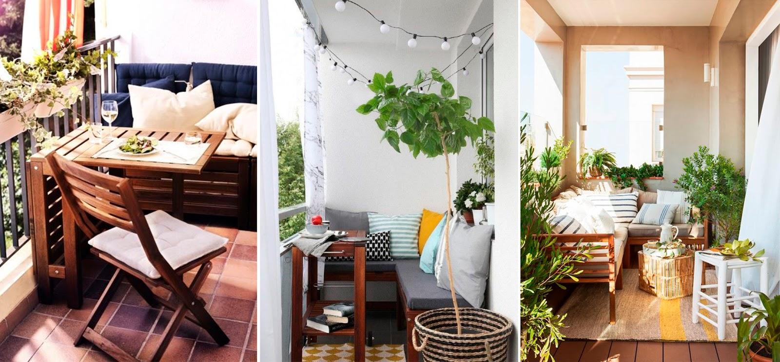 Terraza peque a lista para el verano es algo personal for Mobiliario terraza pequena