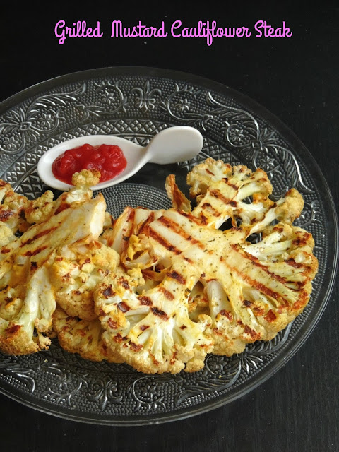 Vegan Grilled Cauliflower Steak