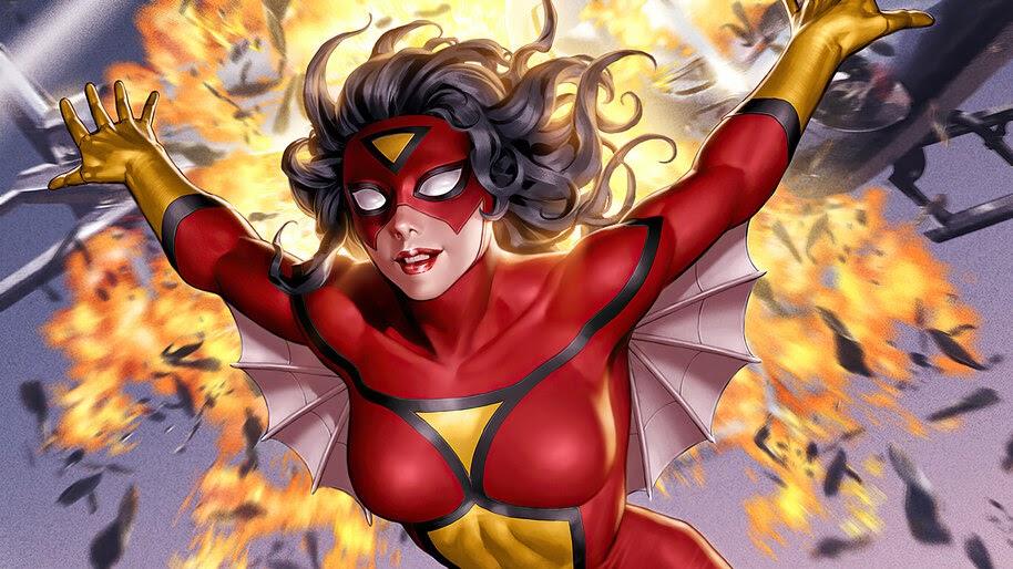 Spider-Woman, Marvel, Superhero, 4K, #6.1225