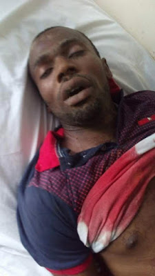 Graphic Photos: UNIPORT School Fees Riot Turns Bloody As Male Student Is Shot Dead By Army And Police