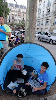 barracas são uma mão na roda numa viagem com crianças