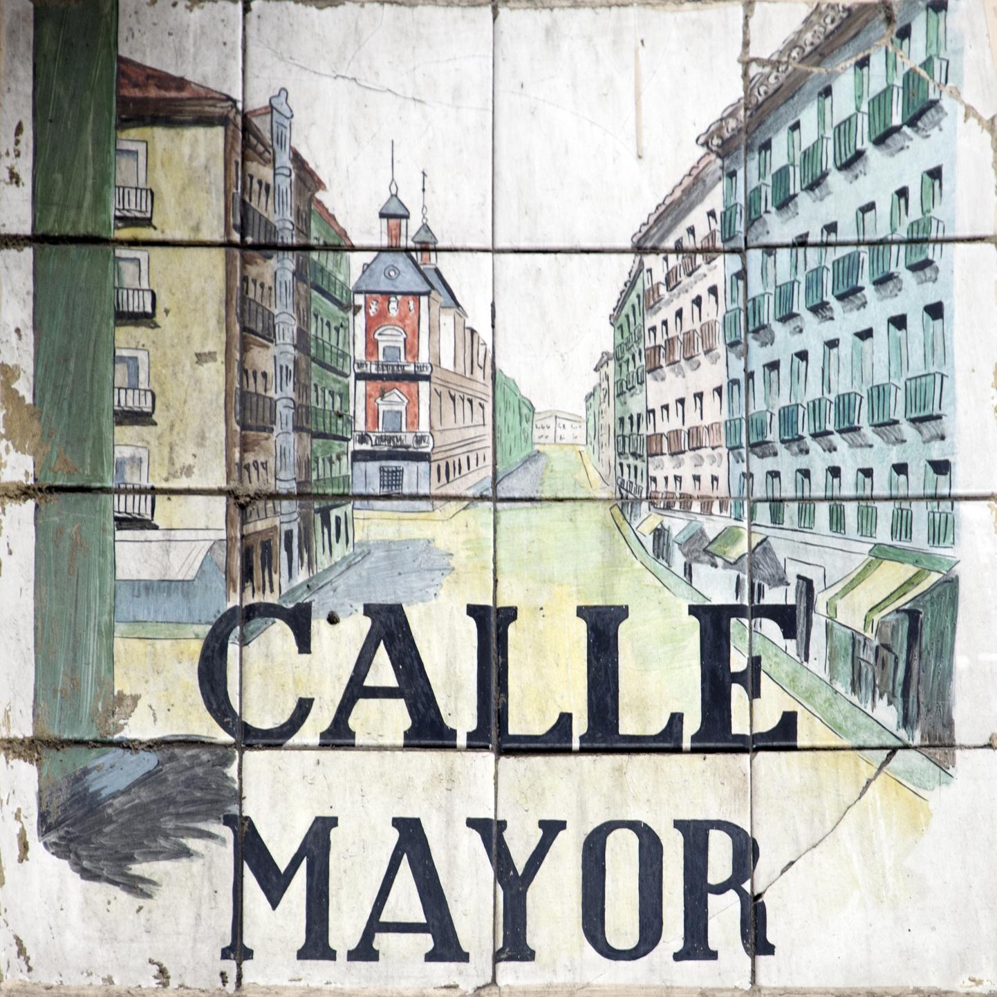 Placas e historia de las calles de Madrid Historia de las