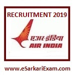 Air India Officer, Executive Recruitment