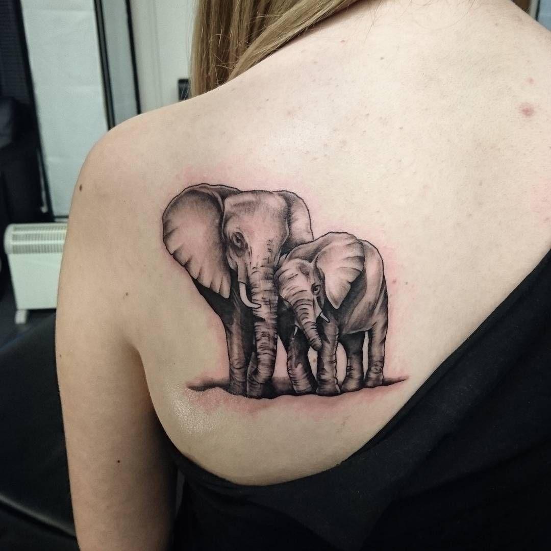 Imagen de tatuaje de elefante