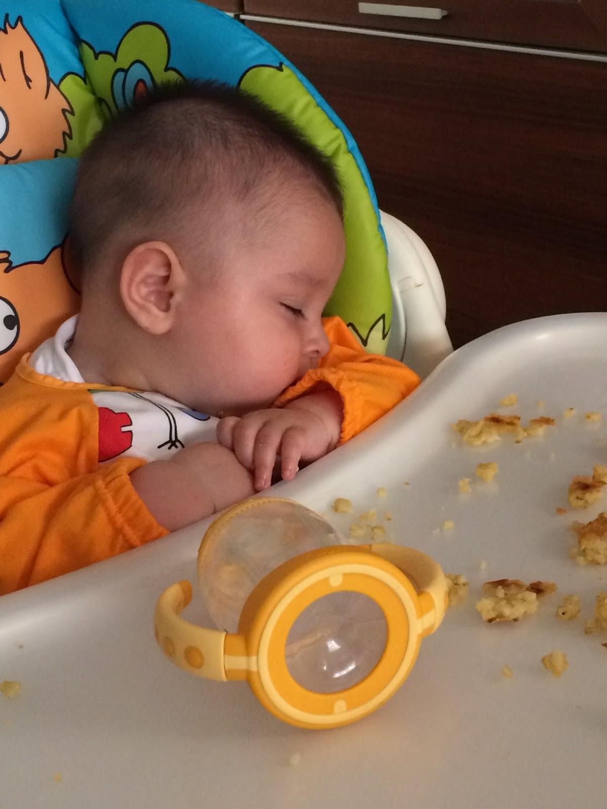mi bebe de 6 meses come muy poco