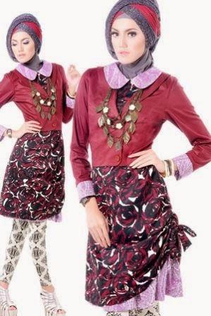Baju remaja muslim yang trendy