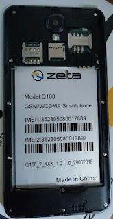 Zelta q100 firmware 100% tested without password