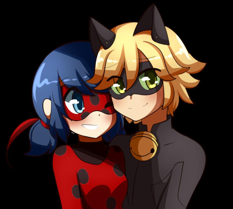 render ladybug y cat noir