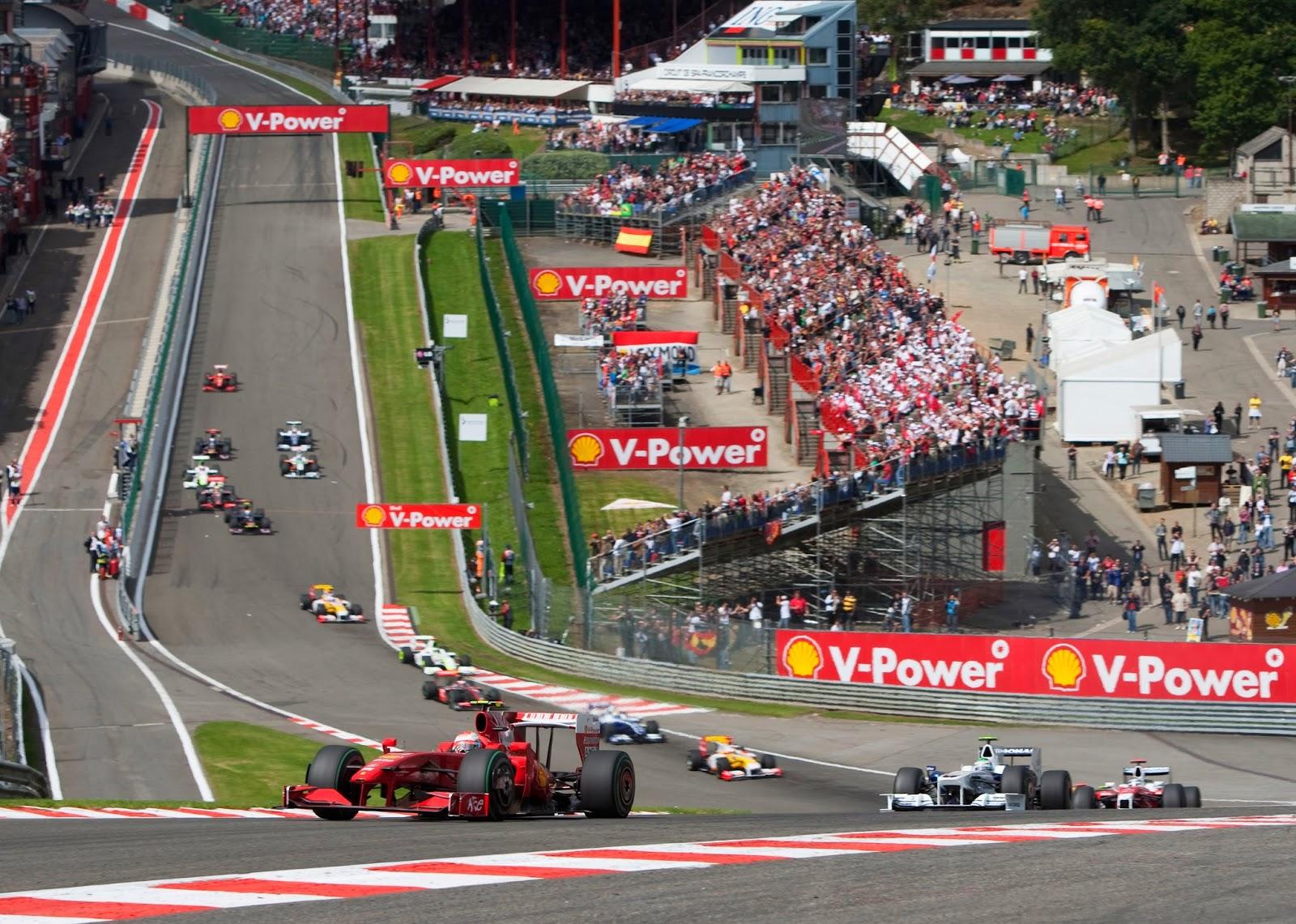 Circuito Spa : F1 dimension: circuiti f1: spa francorchamps