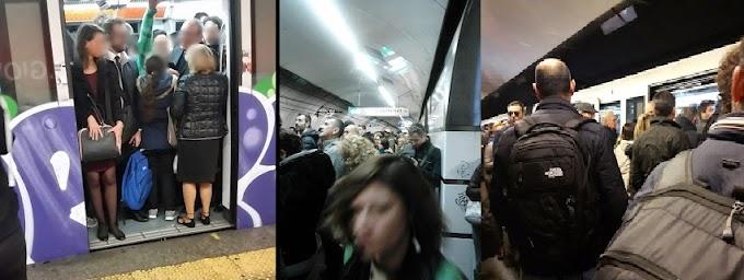 Che succede sulla Metro A