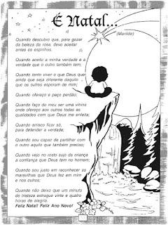 Poema é natal...