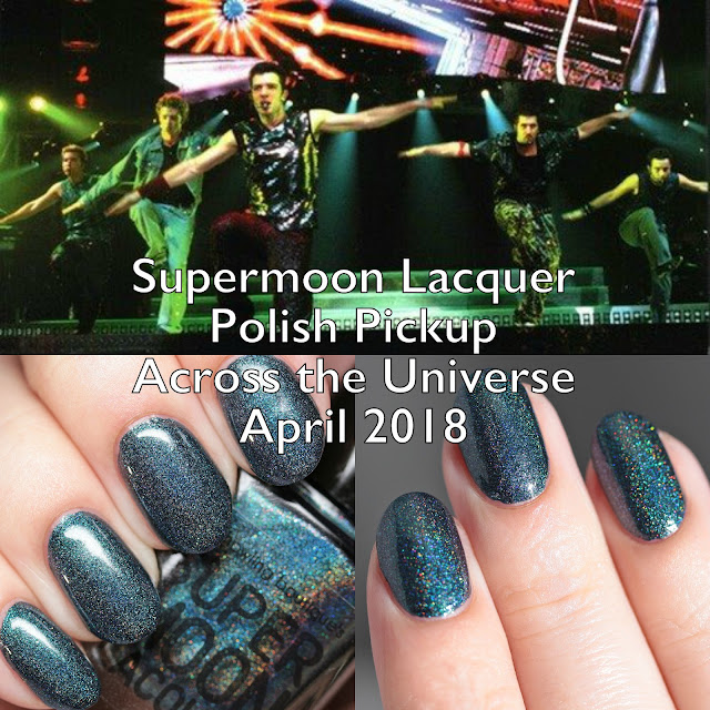 Supermoon Lacquer Polish Pickup Across the Universe April 2018