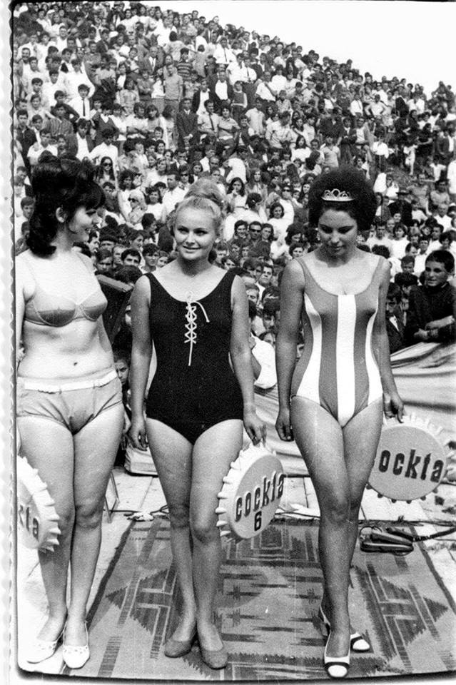 Bild des Tages - Miss Wahl in Mavrovo 1969