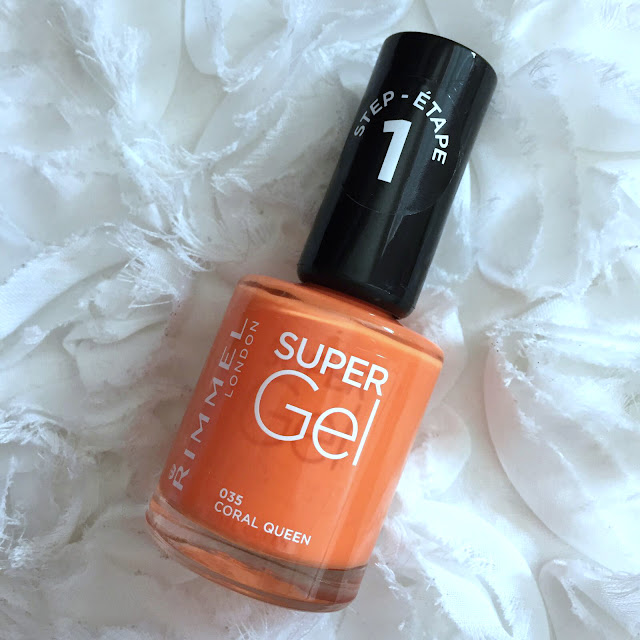 Rimmel Super Gel Beach Ready Collection - Coral Queen