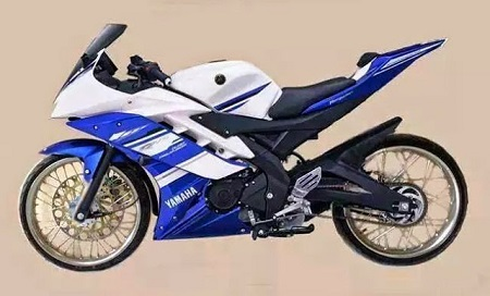 Modifikasi Yamaha R25 thailokk