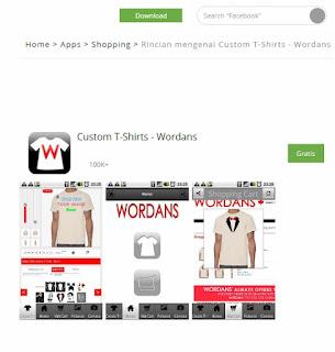 Custom T-Shirt Wordans