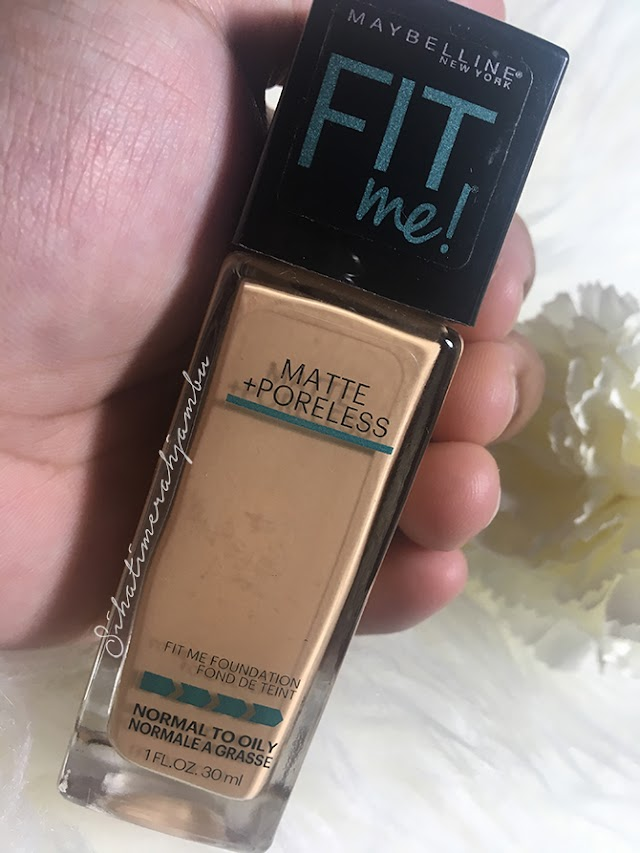 Maybelline Fit Me! Matte + Poreless Liquid Foundation Betul-Betul Fit Me!